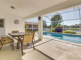 Lovely lakefront home w/ a screened-in pool, modern essentials, beaches nearby!