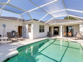 Waterside home w/ private covered pool/patio - attractions nearby!