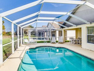 Conveniently located family-friendly home w/ private pool, close to golfing