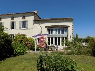 La Grange is a spacious 4 bedroom 2 bathroom gite with large heated pool
