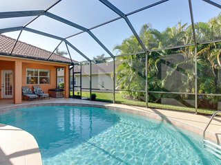 Waterfront home in gated community boasts private pool and amazing location!