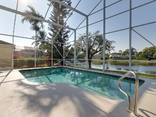 Waterfront home with enclosed private pool near several amazing activities!