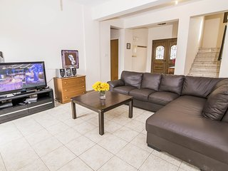 Living and dining with WiFi, TV, DVD player and terrace access