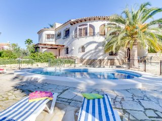 Villa boasts stunning ocean views, private pool, and a peaceful location!