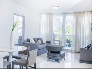 ASK US FOR DISCOUNTS - (C) Stylish 1/1 Brickell / Downtown Miami Condo 10 Minute