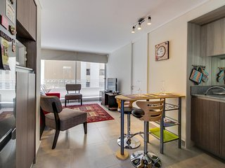 Chic condo w/ modern amenities & private balcony - close to public transit!