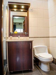 In-suite Luxury full Bathroom in each room.