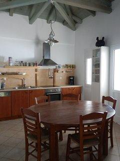 up-stairs kitchen