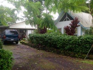 Beautiful 3 bedroom 2 bathroom Hawaiian home with extras to enjoy the Island., Keaau
