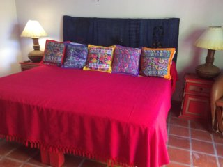 Lovely bedroom with jungle view, Sayulita