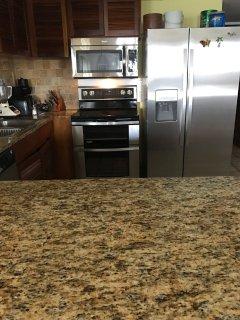 New Stainless Steel Kitchen Appliances
