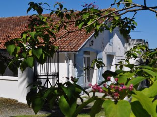 Maison Bidas-with wifi,dishwasher,washing machine,Egyptian cotton sheets/towels, Pouillon