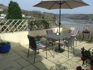 Holiday house overlooking the River Fowey, Cornwall