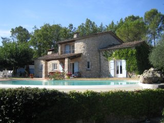 Stone Villa w/ pool and studio, Fayence