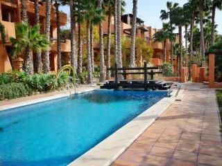 5 Beds = 1 X 3 Bed Quad Villa + 1 X 2 Bed Apt + 2 Pools - Near Villamartin Plaza
