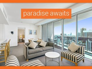 GCHR Orchid Residences Apt 21602 - 2 BR Level 16 (1K+2S+up to 2 extras for a, Surfers Paradise