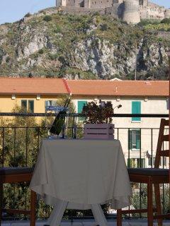Balcone Camera vista Castello Milazzo