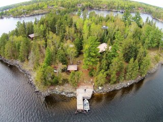 Private 3.5 Acre Island on Lake of the Woods!
