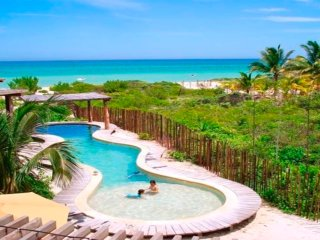 Exclusive & Luxurious Beach house, Emerald coast Yucatan., Progreso