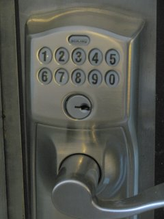 No key, no problem! Hassle-free entry with a unique 4-digit code