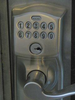 No key, no problem! Hassle-free entry with a unique 4-digit code