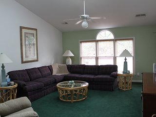 Sea Trail Resort-On Golf Course, Beach 1 Mile 3bd