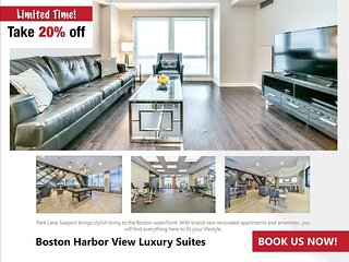 Boston Harbor View Two Bedroom Suite