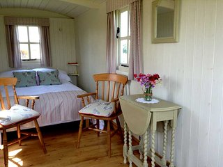 Benton View Shepherd Huts, Bratton Fleming