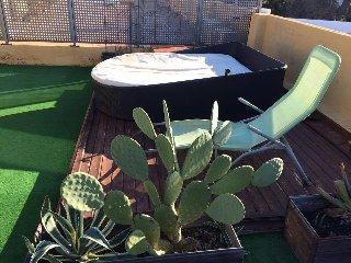 studio avec terrasse sur le toit