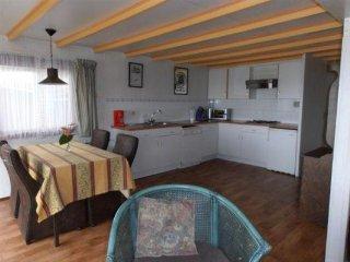 Schönes Ferienhaus Elly - eigenem Angelsteg am Jachthafen direkt am Lauwersmeer