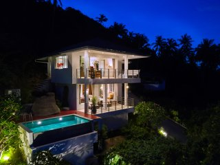 Tropical sunrise Sea view pool villa sabaaiRHomes Chaweng Noi Beach Ko Samui