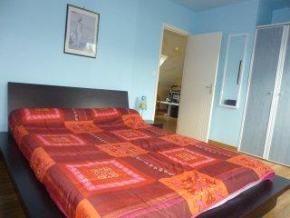 Chambre Bleue meublee chez l'habitant,2 couchages