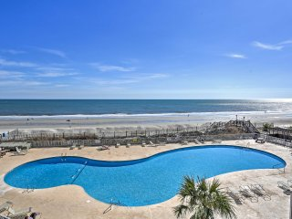 NEW! Oceanfront 1BR Myrtle Beach Condo in Resort!