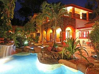 NEW! Oceanview 4BR Platanitos Hacienda-Style Villa