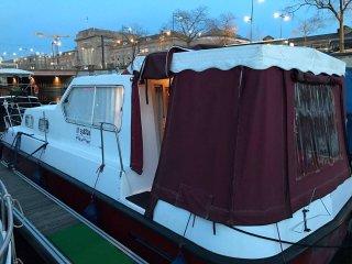 Nuit dans un bateau au coeur de Mulhouse