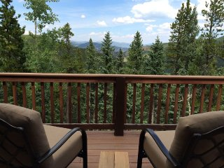Mt. Evans Cabin with 150 Acres, Stream, Forever Views, Relaxing Destination