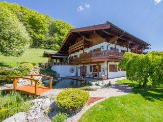 BERGSUCHT-Ruhpolding - exklusive 5 Sterne Ferienwohnung am Schwimmteich