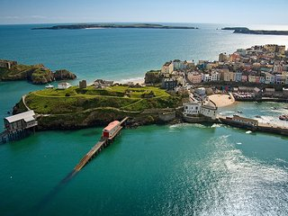 Tenby Apartment (St Catherines, Islands View)