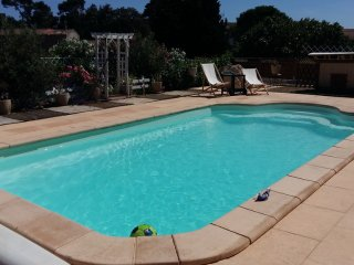 House with private heated pool, Rustiques