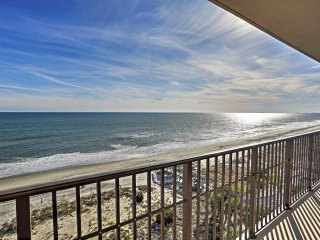 NEW! 3BR North Myrtle Beach Condo Right On Beach!