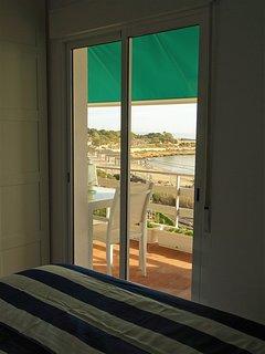 sea views from bedroom