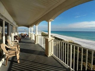 "Seaview I #200 ""As Good As It Gets"" Entire 3rd floor, On Beach, Pool. Elevator,"