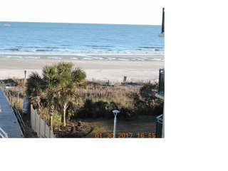 2 bed 2 bath Condo located on the beach with a beautiful view of the ocean
