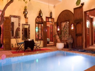 ★COZY RIAD★ 27 PAX ★11 Rooms & Suites ★HEART OF MARRAKECH ★ 27 Personnes ★