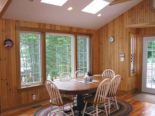 Charming lakeside cottage- classic with modern ammenities and touches.