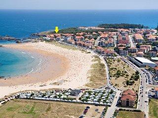 Primera linea de la playa de Ris en Noja - Wifi gratis