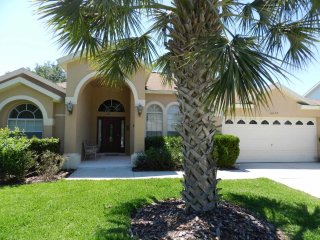Spacious but cozy 4/3 pool home located at Orange Tree. Desirable location
