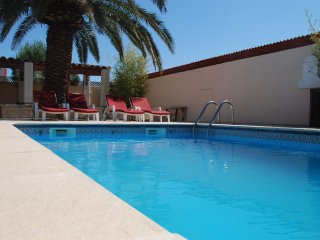 Detached Villa with large terrace and pool close to beaches