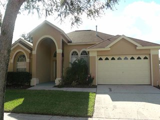 This Orange Tree 5/3 pool home is the total package - space, privacy, location