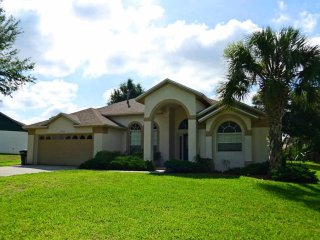 Just like home - but better!Greater Groves 4/3 pool home with game room